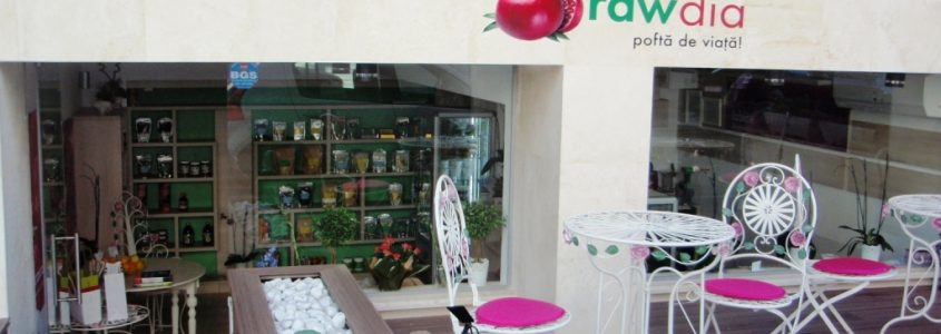 rawdia restaurant si magazin vegetarian & raw-vegan Floreasca in Bucuresti
